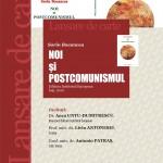 Afisul-Lansarii-de-carte-Noi-si-postcomunismul-Sorin-Bocancea
