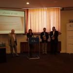 Prof.univ.dr. Doru Tompea, Laura Georgescu, Conf.univ.dr. Daniel Sandru, Conf.univ.dr. Sorin Bocancea
