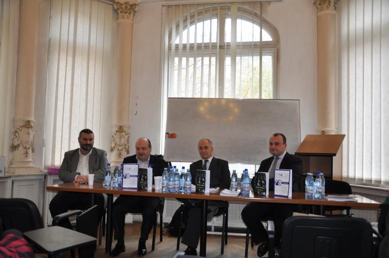 Conf.univ.dr. Sorin Bocancea, Prof.univ.dr. Doru Tompea, Conf.univ.dr. Gabriel Andreescu, Prof.univ.dr. Radu Carp