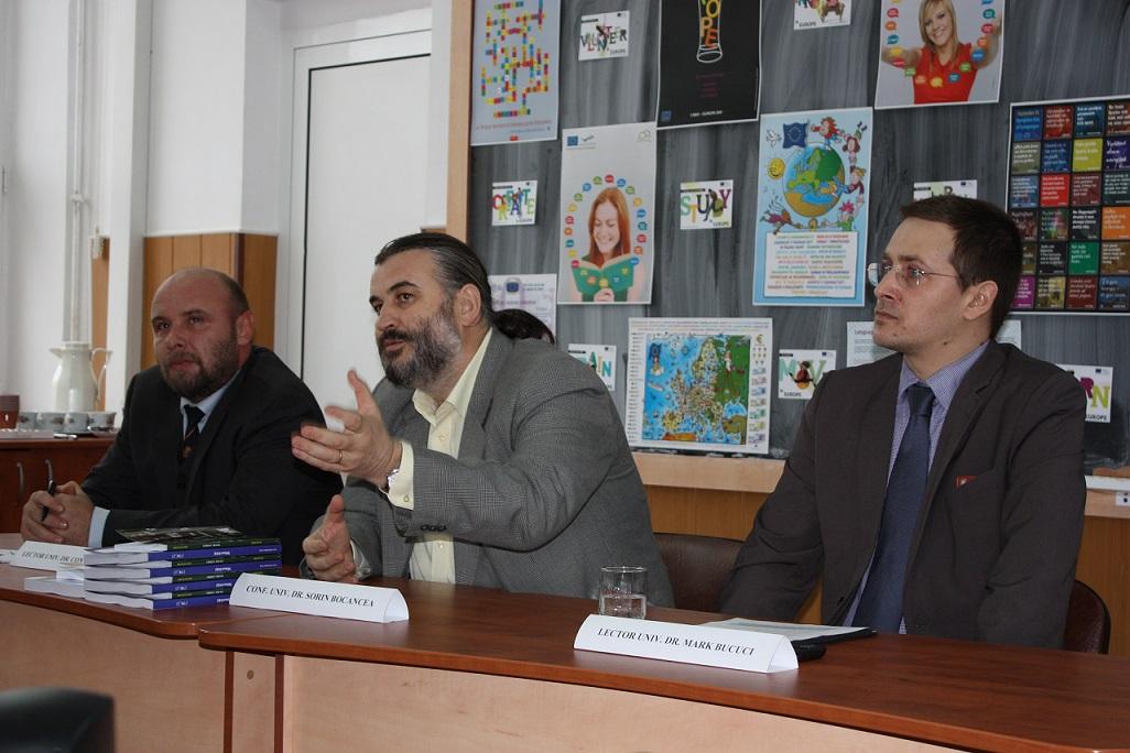 Lect.univ.dr. Constantin Ilas, Conf.univ.dr. Sorin Bocancea, Lect.univ.dr. Mark Bucuci