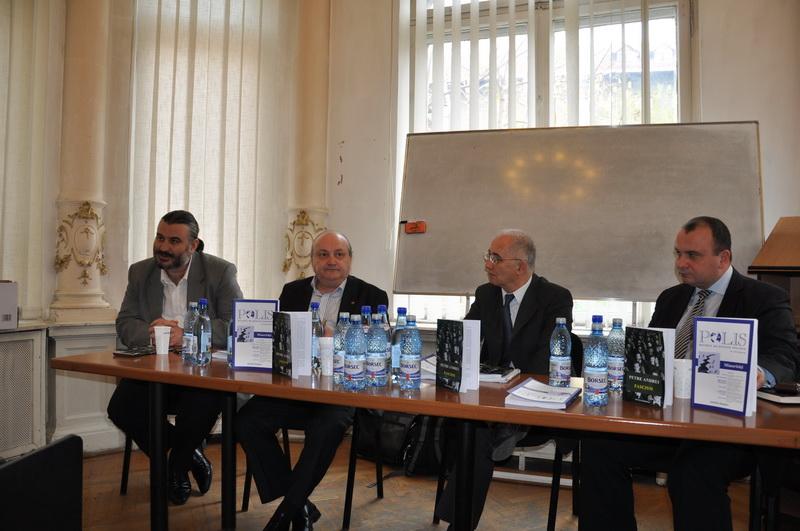 Prof.univ.dr. Radu Carp, Conf.univ.dr. Gabriel Andreescu, Prof.univ.dr. Doru Tompea, Conf.univ.dr. Sorin Bocancea