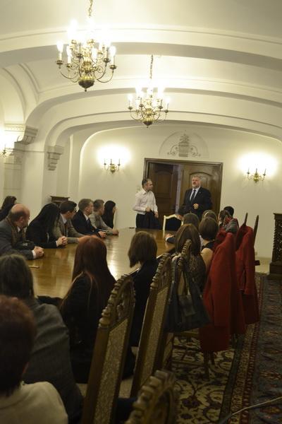 Daniel Petru Funeriu, Consilier prezidential si Dorel Onaca, Seful de Cabinet al Presedintelui Romaniei