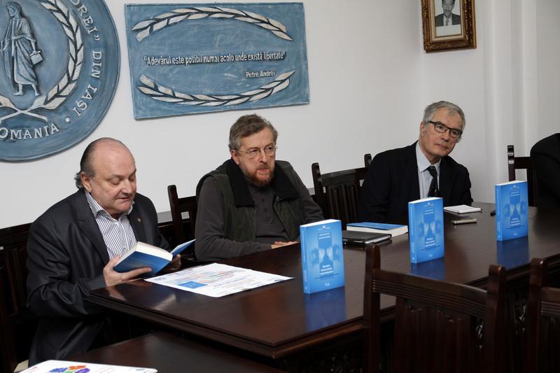 Prof.univ.dr. Doru Tompea, Prof.univ.dr. Mihai Dinu Gheorghiu, Prof.univ.dr. Zoltan Rostas