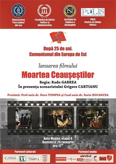 Dupa 25 de ani.Comunismul din Europa de Est - lansarea filmului Moartea Ceausestilor