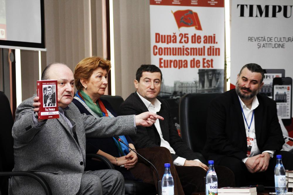 Lansarea volumului Viata lui Ceausescu. Fiul poporului - coord. Prof.univ.dr. Lavinia Betea