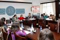 Conf.univ.dr. Sorin Bocancea, Deputat Cristina Nichita, Lect.univ.dr. Alina Hurubean