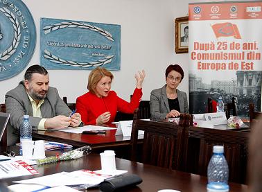 Lect.univ.dr. Alina Hurubean, Deputat Cristina Nichita, Conf.univ.dr. Sorin Bocancea