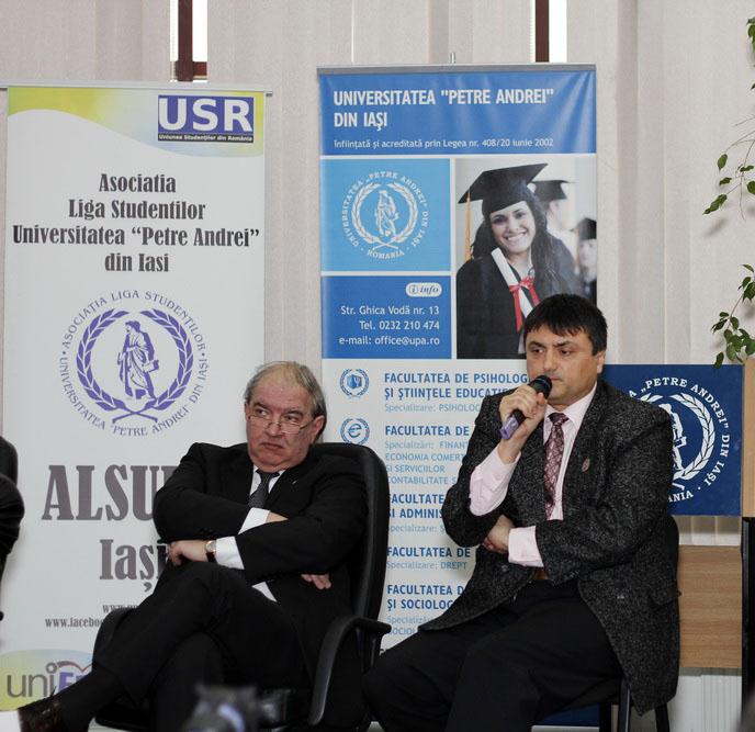 Prof.univ.dr. Daniel Condurache, Constantin Biolan