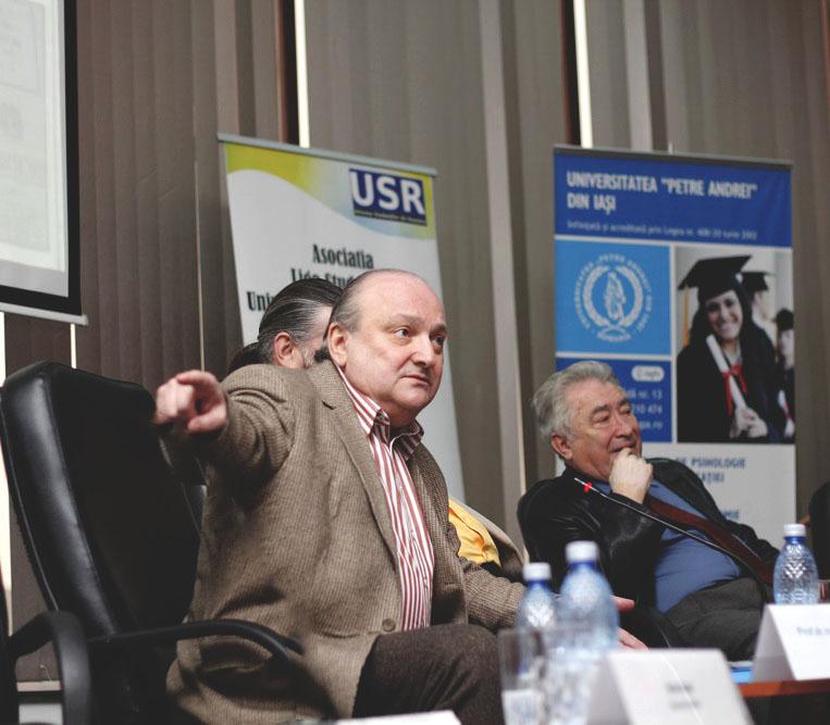 Prof.univ.dr. Doru Tompea, Conf.univ.dr. Sorin Bocancea, Prof.univ.dr. Ioan Agrigoroae
