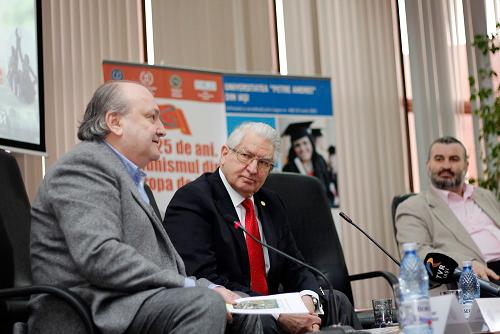 Prof.univ.dr. Doru Tompea, Prof.univ.dr. MSc. HC. Vlad Ciurea, Conf.univ.dr. Sorin Bocancea