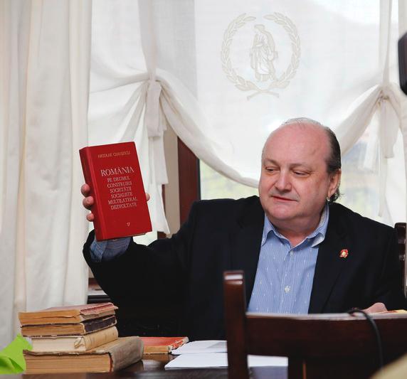Prof.univ.dr. Doru Tompea, rectorul UPA din Iași
