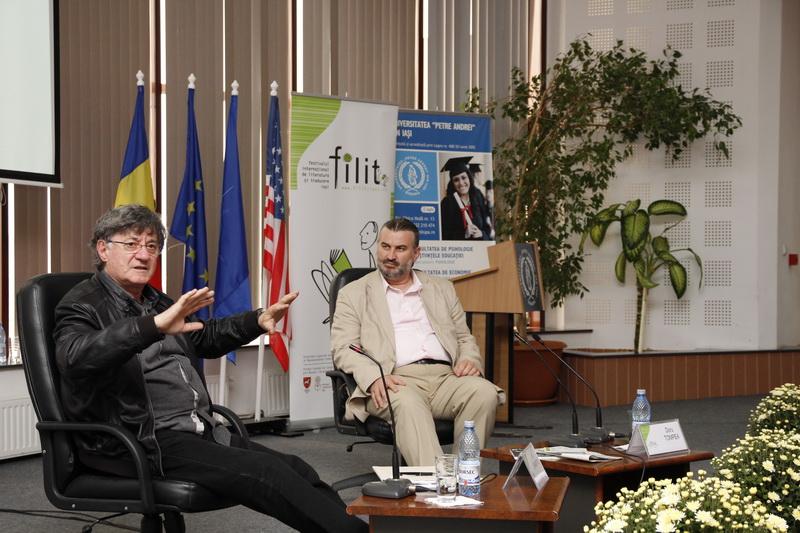 Actorul Ion Caramitru, Prof.univ.dr. Sorin Bocancea