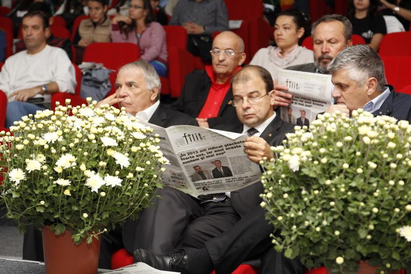 Participanți la Dezbaterea_Teatrul în România comunistă