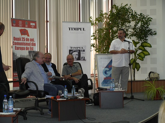 Prof.univ.dr Doru Tompea, Prof.univ.dr. Corneliu Dumitriu, Toni Grecu, Prof.univ.dr. Sorin Bocancea