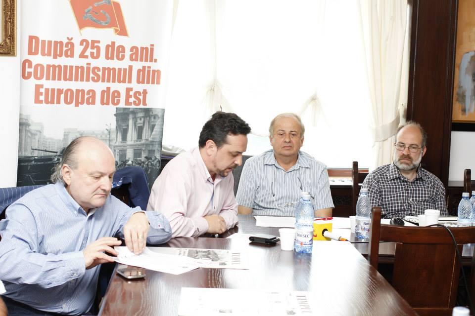 Prof.univ.dr. Doru Tompea, Prof.univ.dr. Daniel Șandru, Conf.univ.dr. Constantin Manolache, Leonard Relea