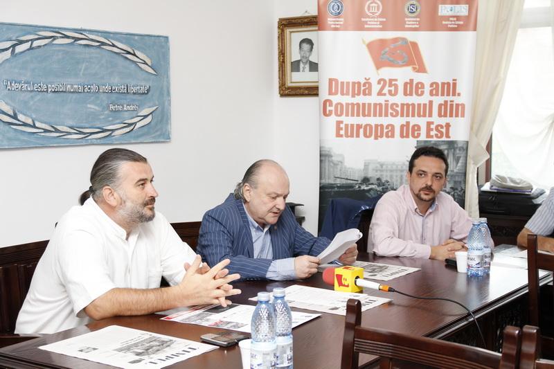 Prof.univ.dr. Sorin Bocancea, Prof.univ.dr. Doru Tompea, Prof.univ.dr. Daniel Șandru