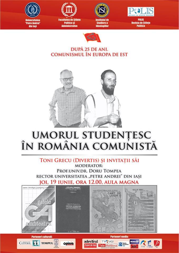 Umorul studențesc în România comunistă