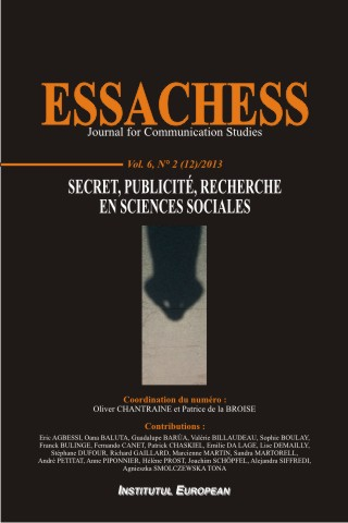 Essachess_Journal for Communication Studies