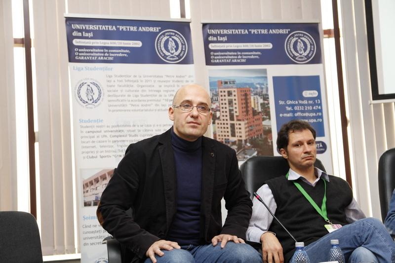 Prof.univ.dr. Antonio Patraș, Conf.univ.dr. Bogdan Crețu