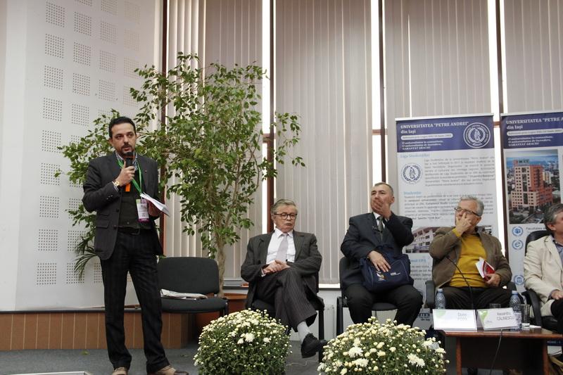 Prof.univ.dr. Daniel Șandru, Alexandru Dobrescu, Conf.univ.dr. Dorin Popa, Prof.univ.dr. Alexandru Călinescu