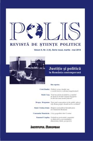 Revista Polis_Justiție și politică în România contemporană_Martie-Mai 2014