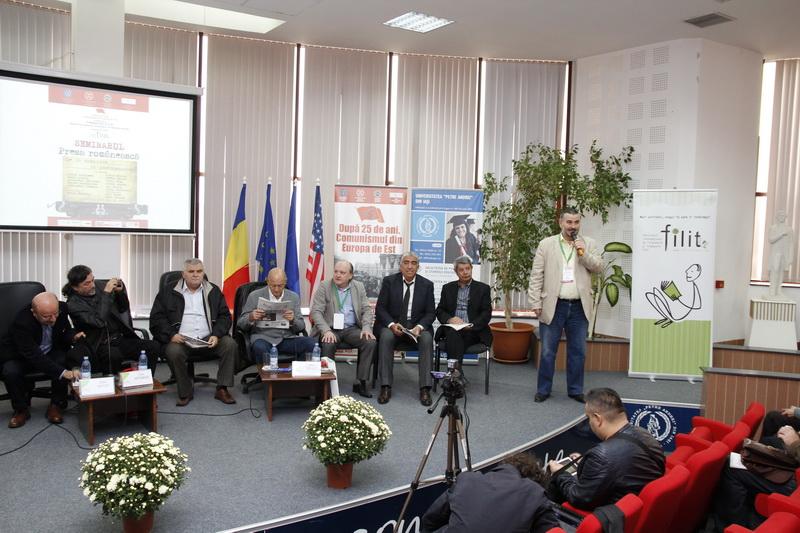 Sorin Antohi, Prof.univ.dr. Liviu Antonesei, Mihai Tatulici, Prof.univ.dr. Doru Tompea, Lorin Vasilovici, Prof.univ.dr. Sorin Bocancea