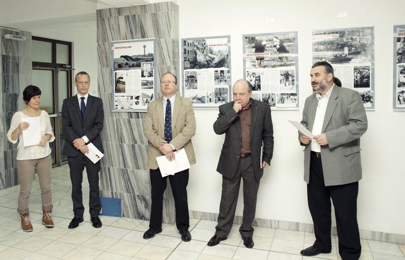 Dr. Robert Grunbaum, Lect.univ.dr. Alexander Rubel, Prof.univ.dr. Doru Tompea, Prof.univ.dr. Sorin Bocancea
