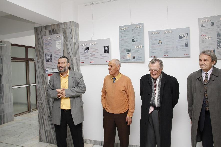 Prof.univ.dr. Sorin Bocancea, Țuțu Spiru, Dumitru Vacariu, Romulus Rusan