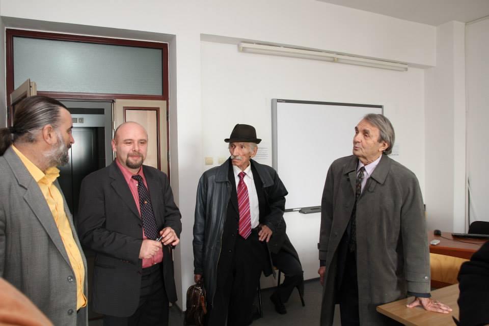 Prof.univ.dr. Sorin Bocancea, Lect.univ.dr. Constantin Ilaș, Dumitru Bazon, Romulus Rusan